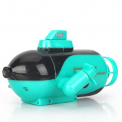[RC Submarine] Mini Radio RC Remote Control Sub Submarine Boat Explorer LED Toy