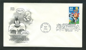 Sylvester and Tweety Looney Tunes ArtCraft First Day Cover Cachet 3204
