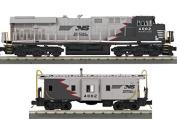NS ES44AC & CABOOSE BLACK#4002