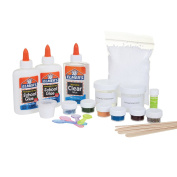 Slime Geek DIY Slime Kit - Make Glow-In-The Dark, Colour Changing, Clear and Glitter Slime - Comes With Airtight Containers for Slime Storage - Comes with Recipes and Bonus E-Book