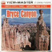 Classic ViewMaster - United States Travel - National Park Series - Bryce Canyon National Park - ViewMaster Reels 3D - Unsold store stock - never opened