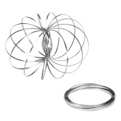 Kinetic Educational Spring Toy/Flow Ring/Interactive Spring Toy 3-D Kinetic Sculpture Three-dimensional toys