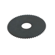 63mm Outer Diameter 16mm Bore 0.8mm Thick 60T HSS Slitting Saw Black