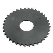 75mm x 2.5mm x 22mm Milling Cutter HSS 36 Teeth Slitting Saw Black