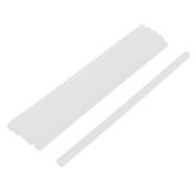 10 PCS Clear White Hot Melt Stick Adhesive Gun Beauty Jewellery Repair Tool