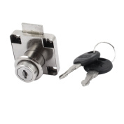 18mm Dia Metal Cylinder Security Wardrobe Mailbox Cabinet Lock and Key