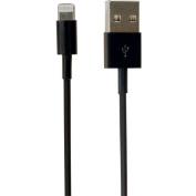 Visiontek Lightning to USB .25 Metre Cable - Black