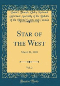 Star of the West, Vol. 2