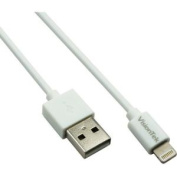 1M LIGHTNING TO USB WHITE MFI CABLE