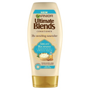 Garnier Ultimate Blends Argan Oil and Almond Cream Dry Hair Conditioner, 360 ml, Pack of 6