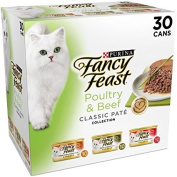 Purina Fancy Feast Grilled Seafood Collection Wet Cat Food Variety Pack (24) 90ml Cans