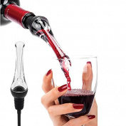 Kicode Practical Wine Aerator and Pourer Decanter Spout for Barware Kitchenware Tool Home Party Banquet