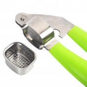 Saingace 1X Garlic Press, Stainless Steel Home Kitchen mincer Tools Garlic Press Crusher squeezer masher