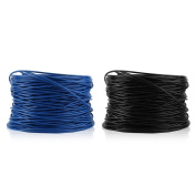 300m 0.56 Copper Clad Aluminium Twisted Pair Network CAT6 Cable Bulk Wire,black