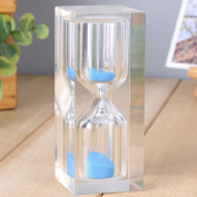 Longless 15 minutes crystal resin hourglass timer ornaments