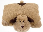 Kids Cuddly Snuggly Puppy Pillow, Perfect Plush - Ideal Travel Companion!