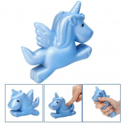 HUHU833 11*8*3cm Scented Kawaii Unicorn Squishy Slow Rising Cartoon Doll Toys