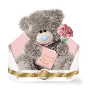 Me to You - 23cm Mummy Teddy - I love you Mummy because... - Holding flower and book