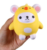 squarex Exquisite Squishy Kawaii Cute Bear Jumbo Slow Rising Squeeze Toy Collection Cure Gift