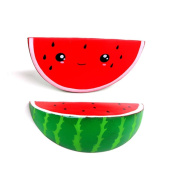 HARRYSTORE Jumbo Smiley Watermelon Slow Rising Squishies Charms Kawaii Squishies Cream Scented Toys For Kids and Adults