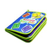 TOYMYTOY Baby FirstCloth Book Intelligence Development Cloth Educational Toys for Baby Girl Boy