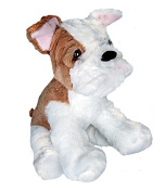 """Bull Dog - 16""""/40cm - Build Your Own Teddy Bear Making Kit - No Sewing"""