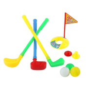 Plastic Golf Sets, willway Golf Clubs Educational Toys for Toddlers Kids Children Infants