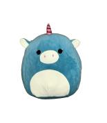 Kellytoy Squishmallow 20cm Ace the Turquoise Unicorn Super Soft Plush Toy Pillow Pet