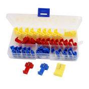Kit Quick Splice Electrical Connector Assortment w Organiser Case