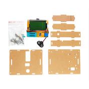 Unique Bargains LCR-T4 ESR Diode Triode SCR Transistor Tester Metre w Automatic Shutdown & Acrylic Shell