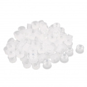 100 Pcs Anti-liquid Splashing Transparent PMMA Optical Lens for LED Bulbs