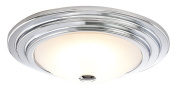 Contemporary and Stylish LED Bathroom Ceiling Light with Opal Glass by Haysoms