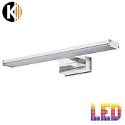 Kwazar® 'Denis' B 8 W 640LM LED Wall Light Mirror Light 40 cm Bathroom Light Mirror Light IP44