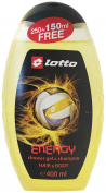 Lotto Sport Energy Hair & Body Wash 400ml