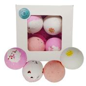Beauty Believers Bath Bomb Gift Set - 4 x 170gm Handmade Bath Bombs - Luxury Romantic Rebel Bath Bomb Collection - Happy Birthday Gift