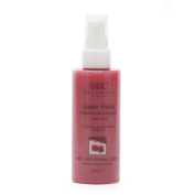 SBC GELS Super Fruits Raspberry and Cranberry Bath and Shower Crème, 100 ml
