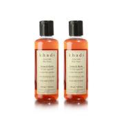 Khadi Natural Henna Thyme Hair Tonic - (Twin Pack)