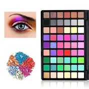 Best Pro Makeup Eyeshadow Palette, KRABICE Make-up Powder Metallic Shimmer and Matte Nudes Eye Shadow Palette Cosmetic 54 Colours Waterproof Makeup Eyeshadow Kit Set - #2