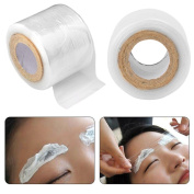 KaloryWee Disposable Eyebrow Tattoo Plastic Wrap Preservative Film, Microblading Plastic Wrap Preservative Film for Permanent Makeup Tattoo Eyebrow, Make Up Supplies Wrap Cover Tape Roll