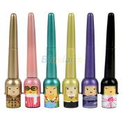 Lilyeyes Cute Lucky Dool Black Waterproof Liquid Eyeliner Pen Makeup Cosmetic