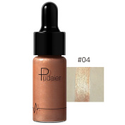 FEITONG 12 Colours Highlighter Make Up concealer Shimmer Face Glow Liquid Highlighter Cream