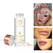 Beauty 24K Rose Gold Essence Oil Lip Repair Oil Skin Makeup Oil Beauty Oil Before Foundation Primer Moisturising Face Oil