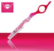 FW®- Hair Styling Razor Thinning Razor Finger Ring Hair Shapers Thinning Razor Blades Stainless Steel Unique Design PRO HAIR SHAPER THINNING LAYER HAIR CUTTING RAZOR COMB RAZOR
