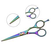 5.5 inch Professional Hairdressing Scissors Titanium Hair Scissors 14 cm
