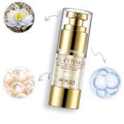 Eye Cream, BIOAQUA Pearl Essence Nourishing Eye Cream Moisturising Dark Circles Eye Essence(25g)(25g)