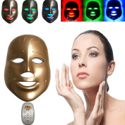 [Best Seller]Buydaly LED Photon Therapy 3 Colours Light Treatment Facial Beauty Skin Care Rejuvenation Phototherapy Mask Beauty Face Care Anti-Ageing Real Mask Beauty Mask Self Skin Care Device