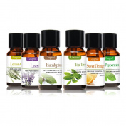 Cosprof Essential Oils Gift Set - 6 Flavours To Choose Plant Aromatherapy Used For Body Massage Flavour Oil Reduced Pressure,10ML