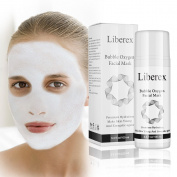 Liberex Oxygen Carbonated Bubble Clay Facial Mask, 100ml