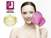 Facial Cleansing Wipes Sweet Face Make-Up Remover Gentle Deep Cleansing Makeup Microfibre Set of 2