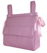 Bag Bread Bin in eco-leather pink baby star